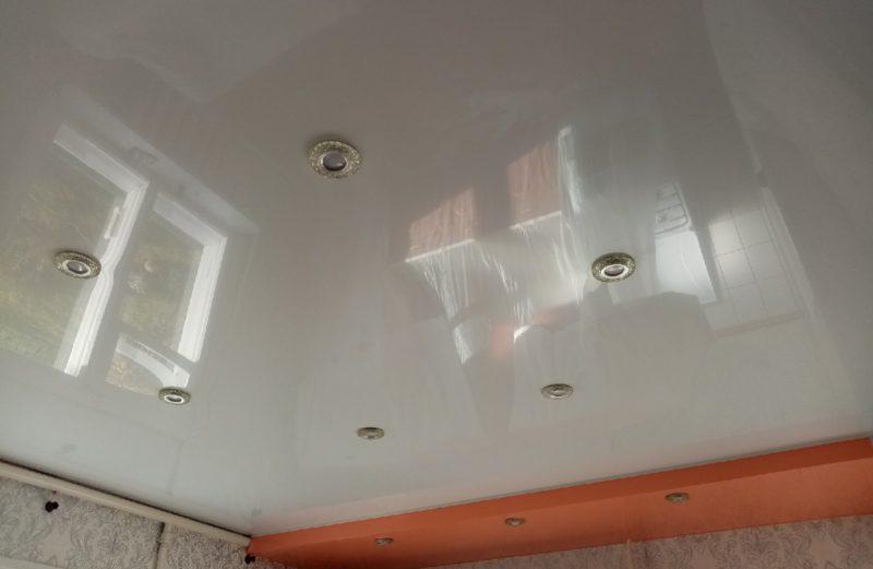 Примеры работ – натяжные потолки